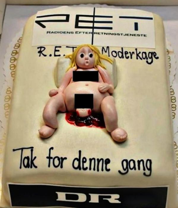Торт для всех, кто боится рожать.