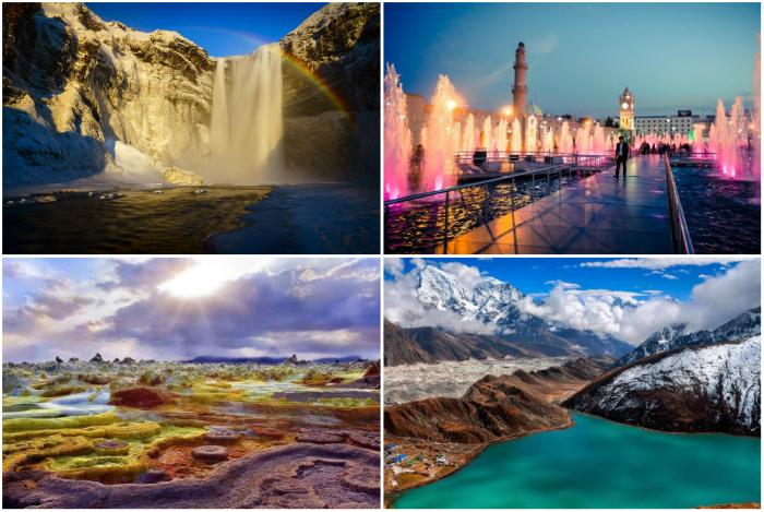 Красивые и опасные места на Земле.