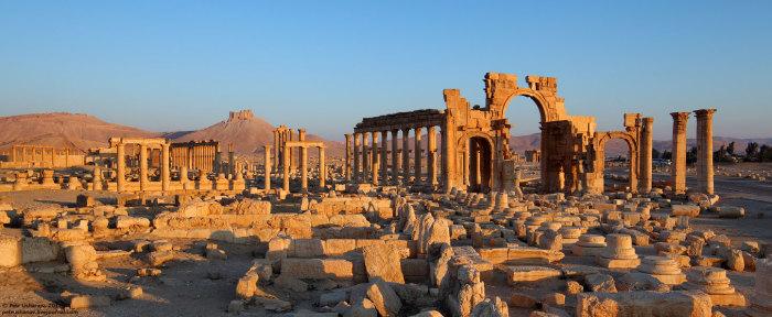 Руины древнего мира, Пальмира, Сирия.