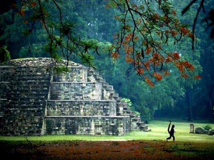 Город Копан, Гондурас.