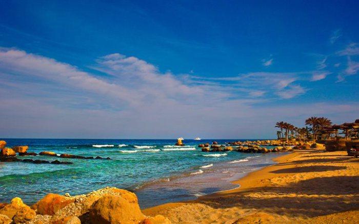 Побережье Красного моря, Египет.