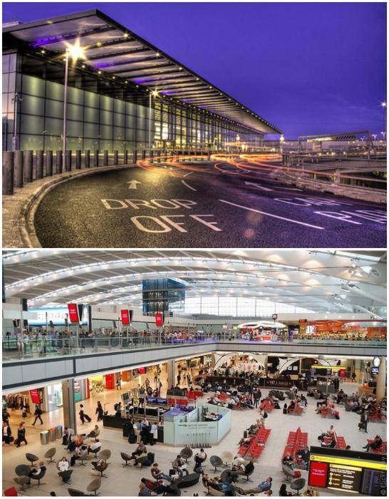 Второй по загруженности международный аэропорт, который обслуживает свыше 180 направлений.
