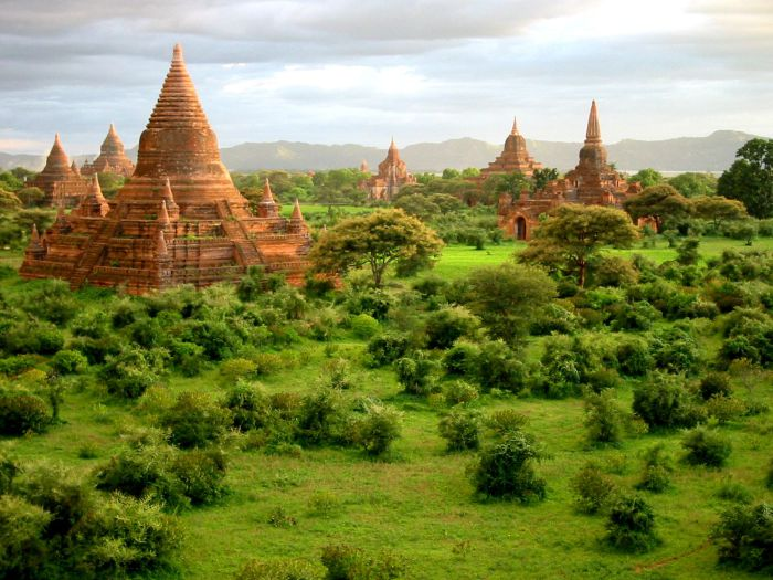 Необычная гостиница, Мьянма.