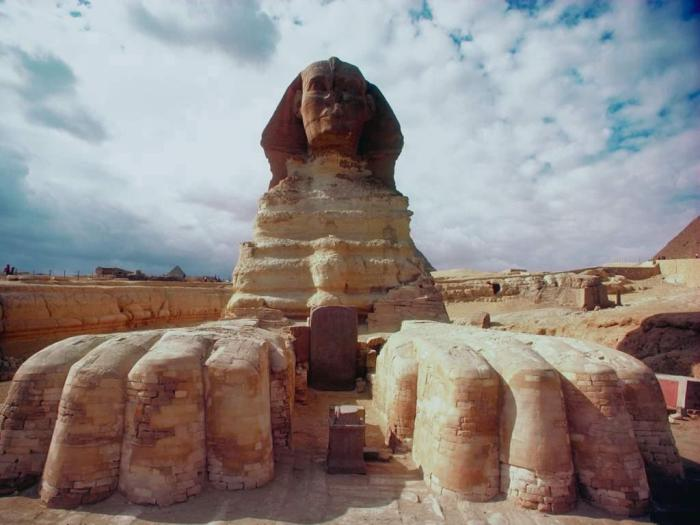 Величественный Сфинкс, Египет.