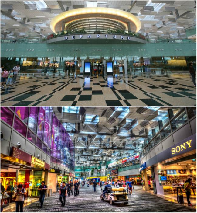 Чанги – крупнейший аэропорт, который уже не в первый раз возглавляет ТОП лучших аэропортов мира.