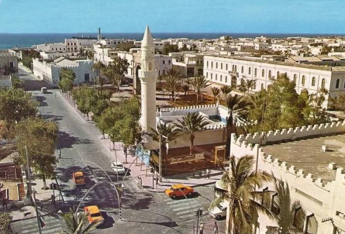 Вид сверху, Сомали.