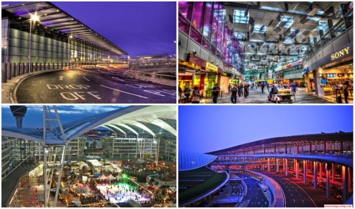 Лучшие аэропорты мира.