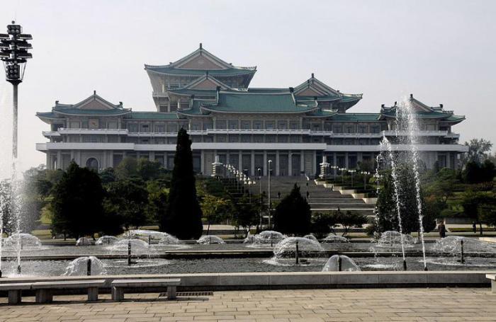 Центральная библиотека, Пхеньян, Северная Корея.