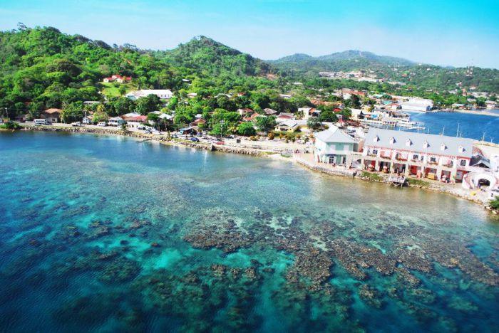Порт круизных судов, Гондурас.
