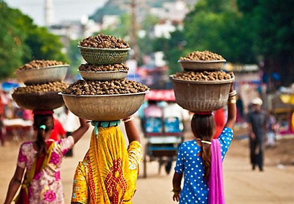 Местные жители, Индия.
