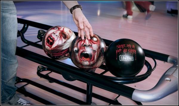 Zombie heads. Тюнинг шаров для боулинга от Оливера Паасса (Oliver Paaß)