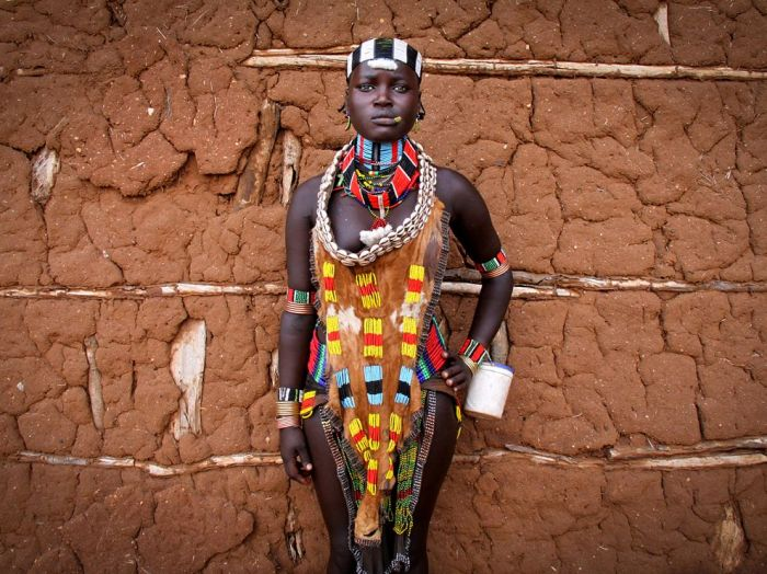 Hamar Portrait, Ethiopia