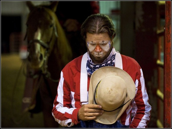 Barrel Clown, Texas