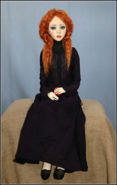 Авторские куклы Оксаны Мироновой (фото из архива художницы)