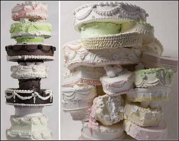 Гипсовые торты-скульптуры Уилла Коттона (Will Cotton)