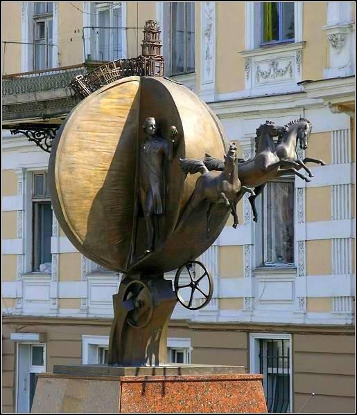 Памятник апельсину-спасителю, Одесса