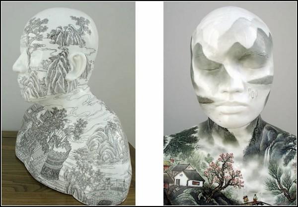Китайский фарфор и китайская живопись
