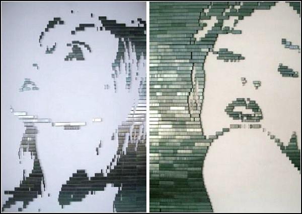 Картины из скобок от Роба О`Брайена (Rob O`Brien)