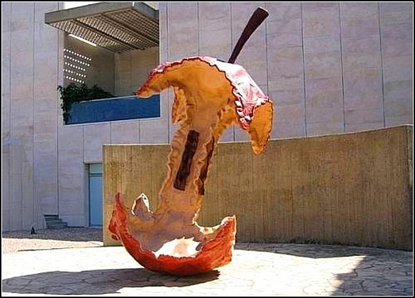 Памятник огрызку, Иерусалим