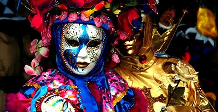 Маски и костюмы к Венецианскому карнавалу 2012 года