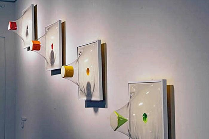 Трехмерные картины-инсталляции Yuki Matsueda