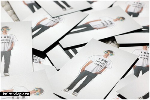 Владелец визитки собственной персоной