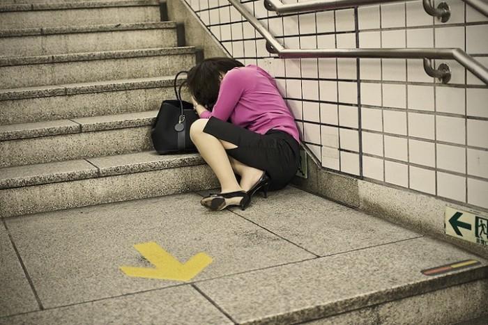 Сонная Япония. Фотопроект Адриана Стори (Adrian Storey)