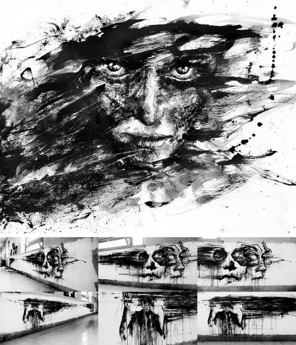 Фантастический арт Агнесс Сесиль (Agness Cecile)
