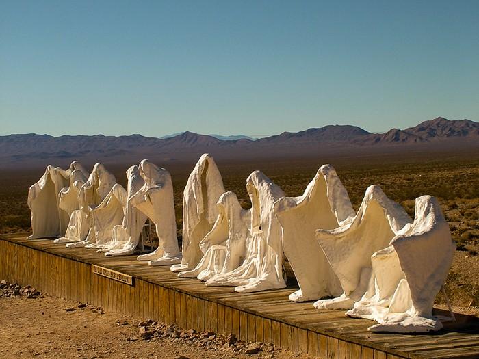 Last Supper, скульптура Альберта Шукальского в музее Goldwell Open Air Museum