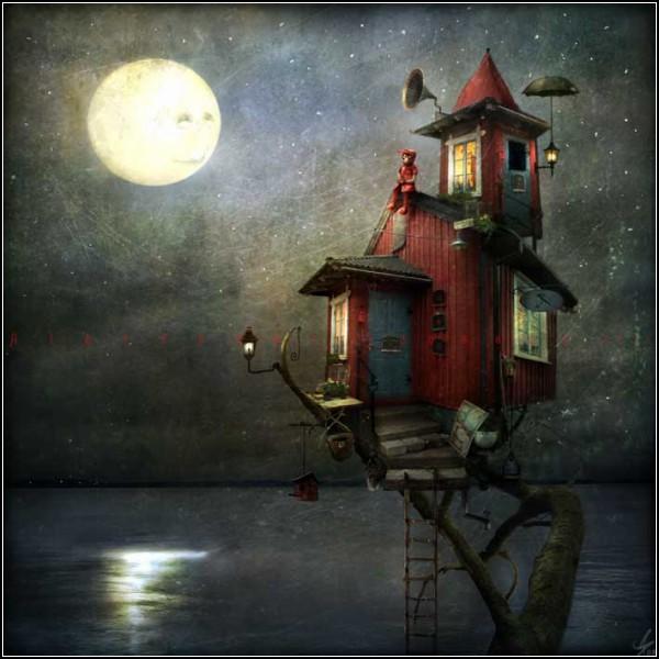 Таинственные домики Александра Янссона (Alexander Jansson)