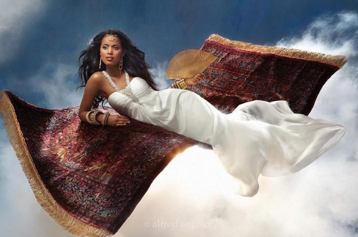 Платье принцессы Жасмин из коллекции Disney Princess wedding dresses