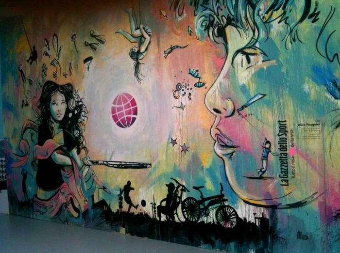 Добрые граффити Алисы Пасквини (Alice Pasquini)