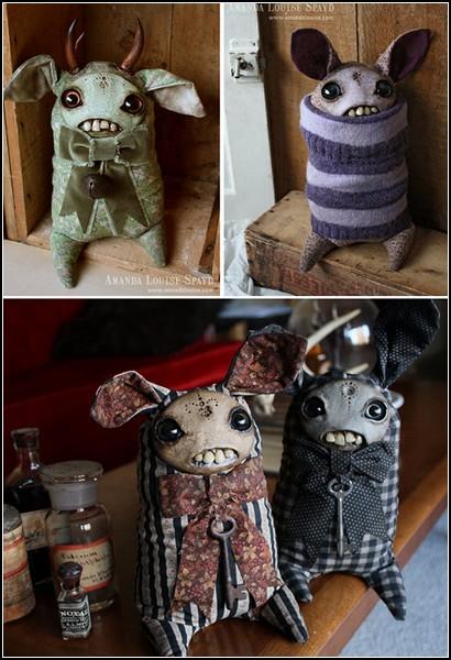 Хотя на самом деле эти куклы не страшные. Они грустные и одинокие
