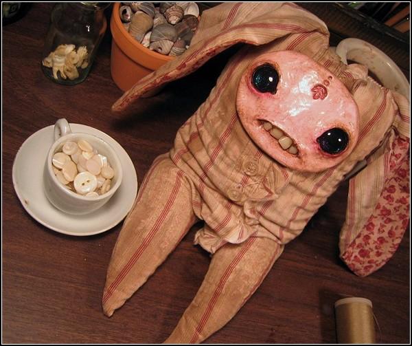 Недетские зайчики-зомби от Аманды Луизы Спейд (Amanda Louise Spayd)