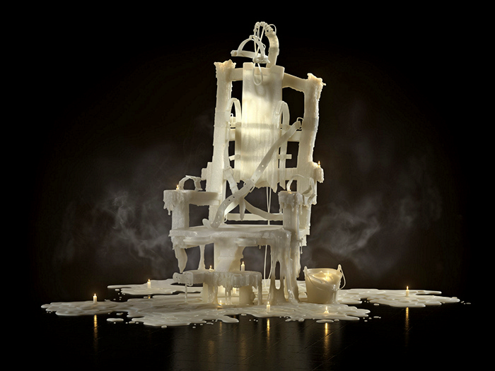 Серия 3D-изображений для рекламной кампании Amnesty International