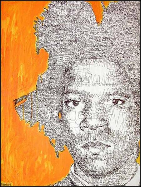Слова, ставшие портретами. Картины Анатоля Кнотека (Anatol Knotek)