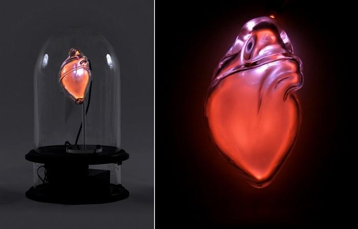 Стеклянные скульптуры из серии Anatomical Neon от Jessica Lloyd-Jones
