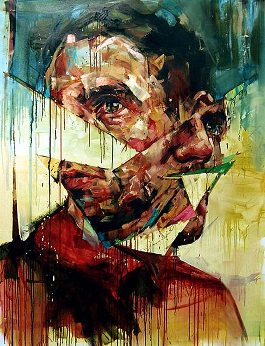 Рваные портреты от Эндрю Сальгадо (Andrew Salgado)