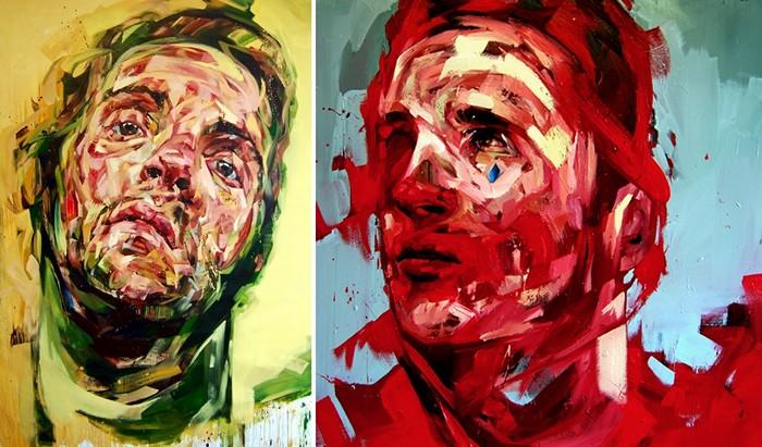 Эмоционально-небрежные портреты Эндрю Сальгадо (Andrew Salgado)