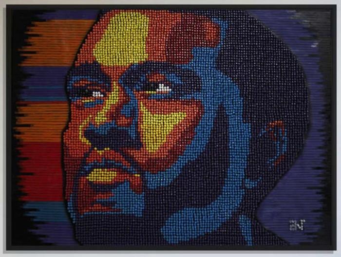 Пуантилизм и живопись в творчестве Andrew Woolery