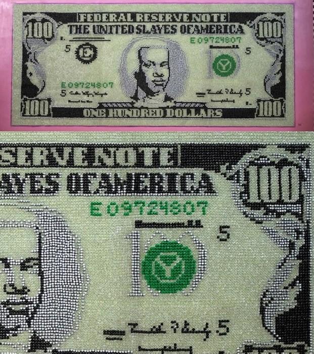 Стодолларовая банкнота All About the Benjamins