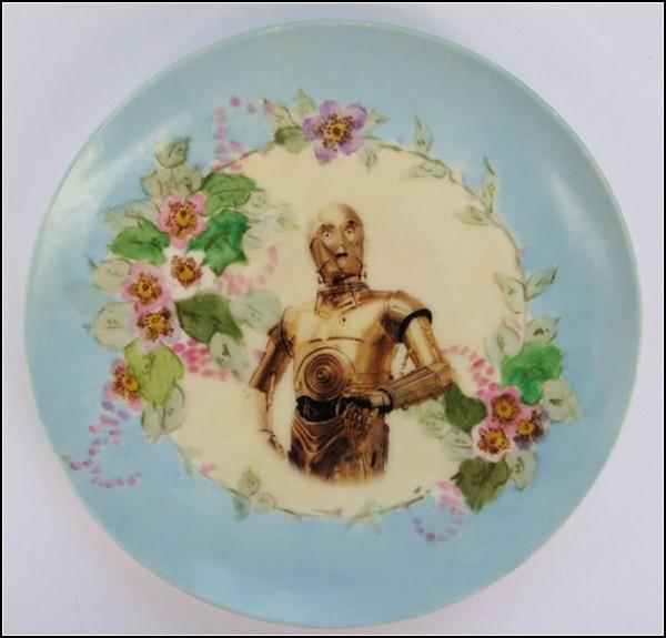 Серия Star Wars на тарелках от Анджелы Росси (Angela Rossi)
