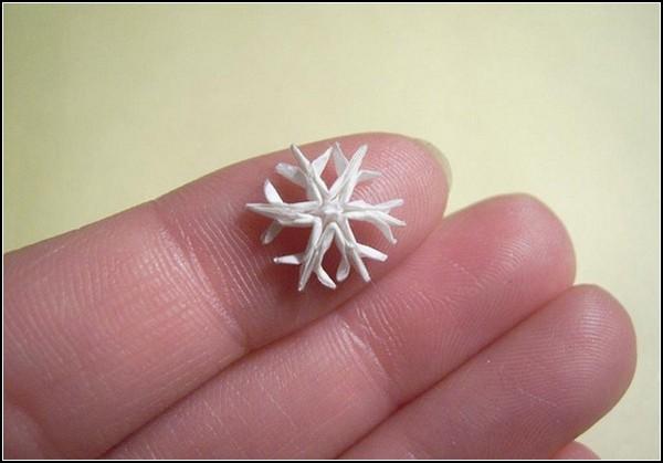 Самые маленькие оригами от Ани Маркевич (Anja Markiewicz)