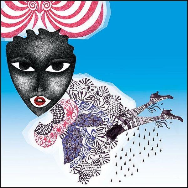 Этнические мотивы в картинах Anneli Akinde