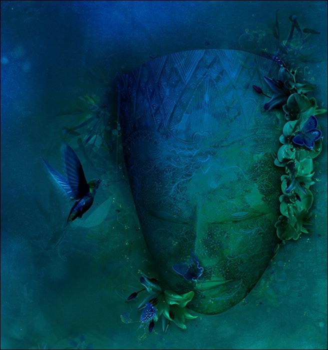 Психоделическая живопись от Archan Nair