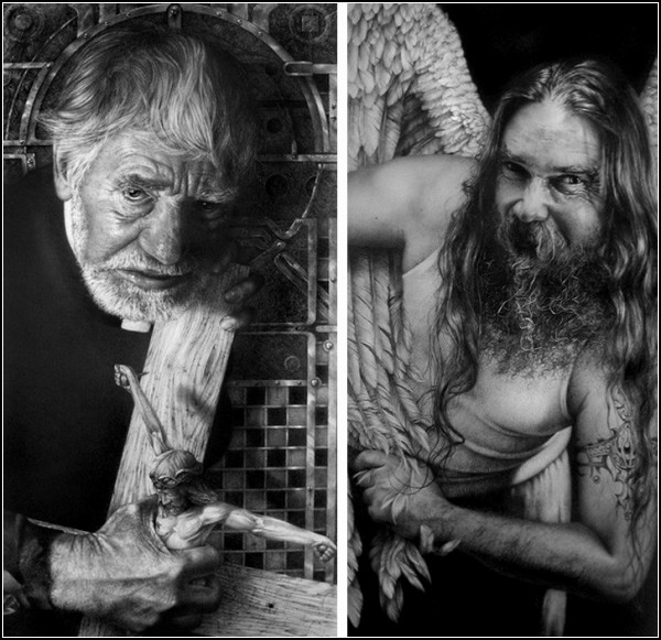 Карандашные портреты Армина Мерсмана (Armin Mersmann)