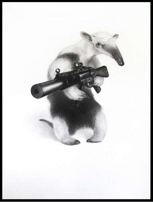 Assassin Animals, животные-солдаты