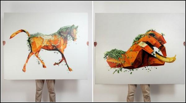 Необычные скульптуры Акселя Брехенсбауера (Axel Brechensbauer)