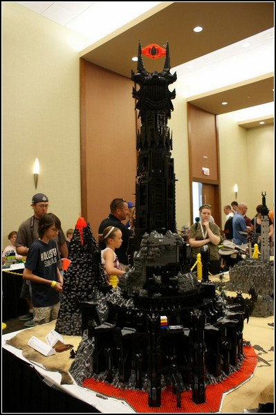 Темная Башня Барад-Дур на фестивале Brickworld 2011