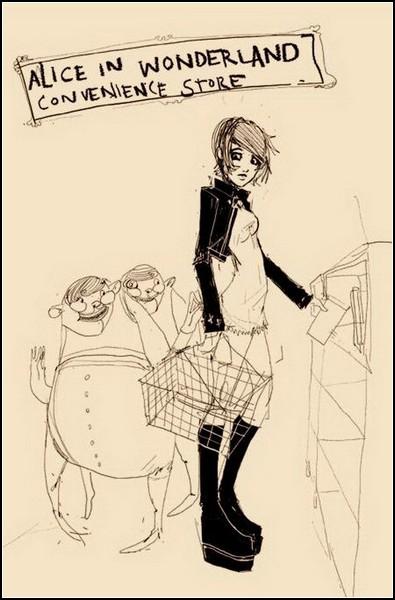 *Алиса в стране чудес* в исполнении Барнаби Варда (Barnaby Ward)